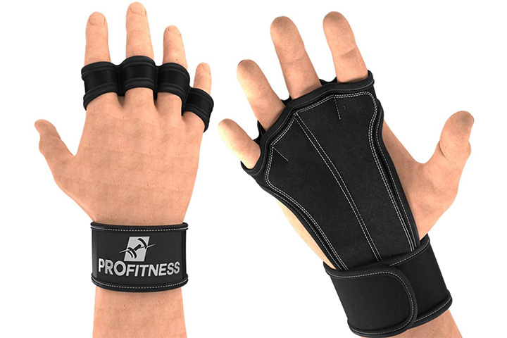 ProFitness Ventilated Pull Up Gloves