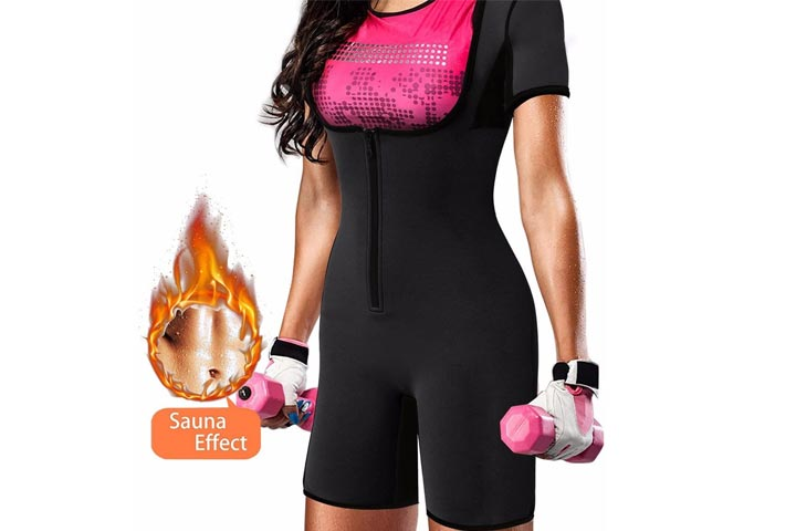Quafort Full Body Shapewear Sauna Suit