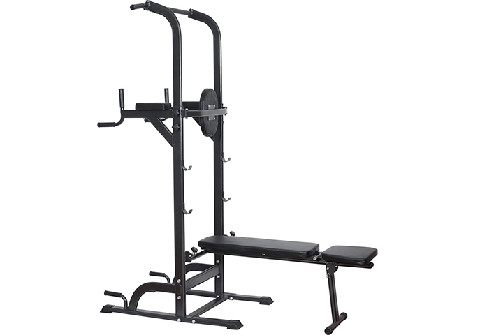 Reliancer Power Tower Dip Station High Capacity 800lbs