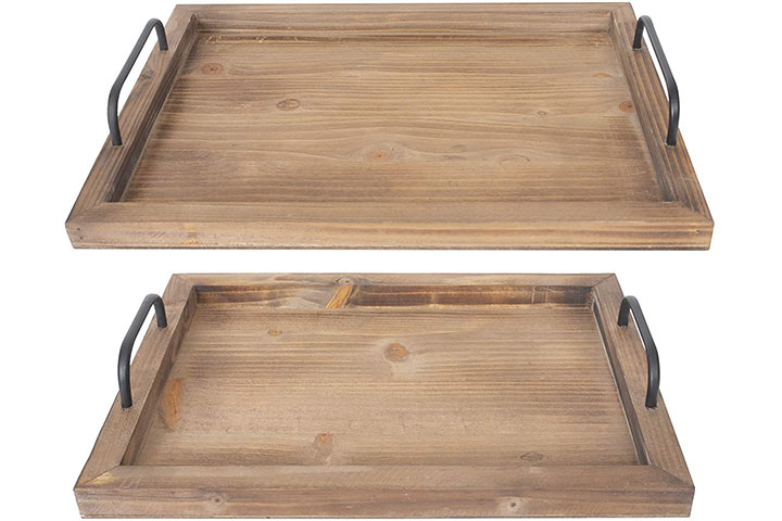 Rustic Vintage Food Serving Trays by Besti