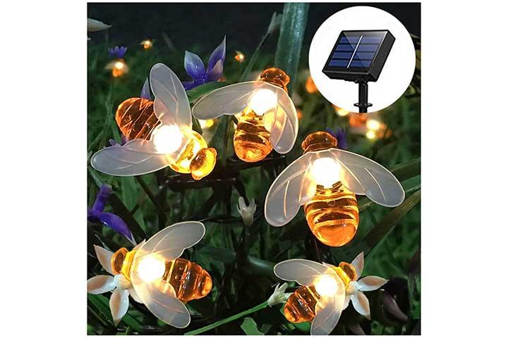 SEMILITS Solar String Lights