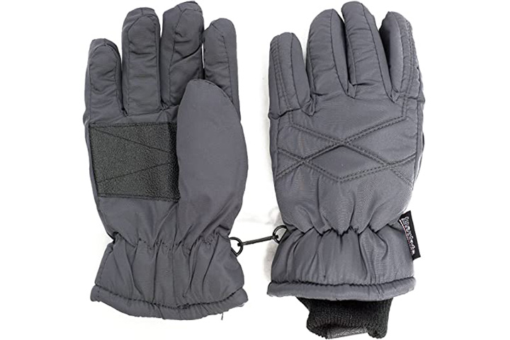 Sanremo Fashions Unisex Kids Cold Weather Ski Gloves