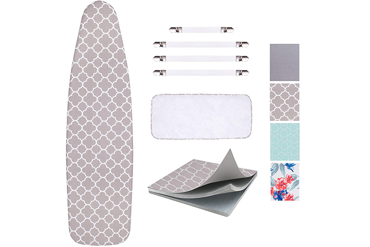 Scorch Resistant Ironing Board Cover by Sun Kloof