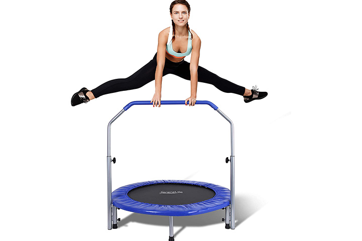 Serenelife Highly Elastic Sports Trampoline - Blue