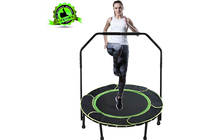 Shizzz Fitness Trampoline - Black Green