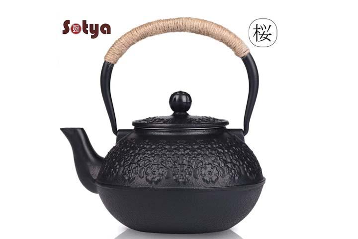Sotya Tetsubin Cast Iron Japanese Teapot