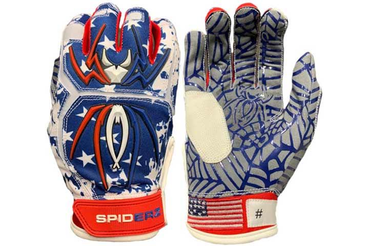 Spiderz Adult Hybrid Batting Glove
