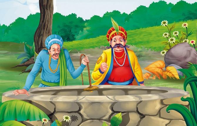 Story of Akbar-Birbal Everyone thinks