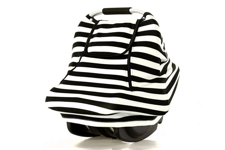 Stretchy Baby Car Seat Covers by Acrabros