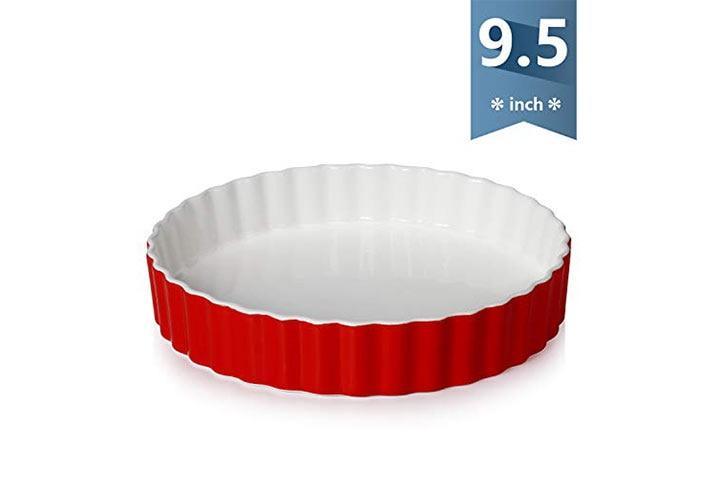 Sweese 5Porcelain Tart Pan - Red