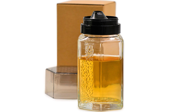 TOSSOW Glass Honey Dispenser