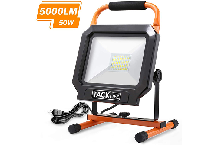 Tacklife 5000LM 50W Work Light with LED Head