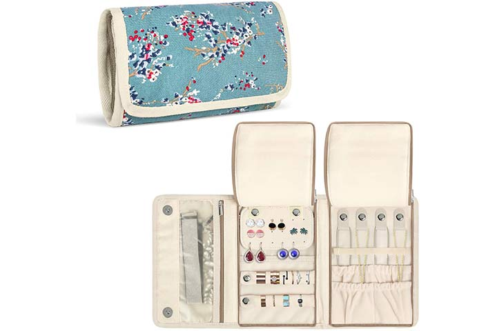Teamoy Travel Jewelry Roll