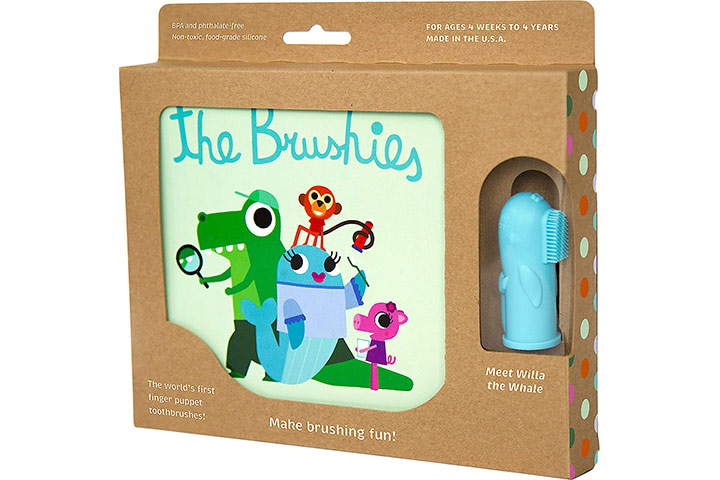 The Brushies Baby & Toddler Toothbrush