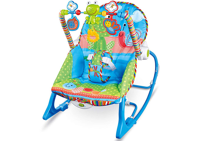 The Little Lookers Infant to Toddler Musical Rocker