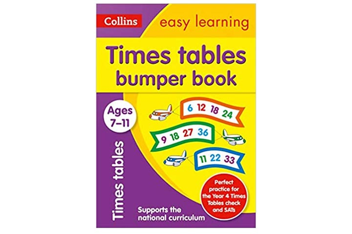 Times Table Bumper Book Age 7-11