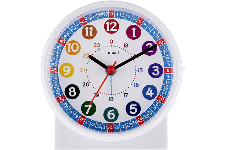 Tinload Analog Alarm Clock For Kids