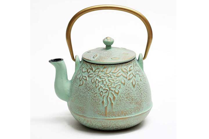 Toptier Cast Iron Teapot With Stainless Steel Infuser