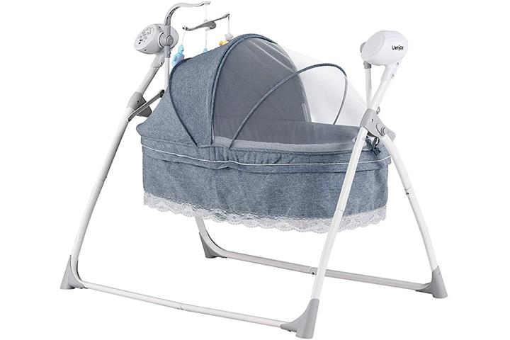 Uenjoy Automatic Baby Swing Cradle
