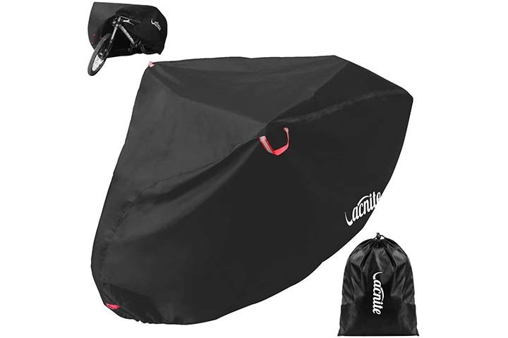 Vacnite Waterproof Bike Cover for Outdoor Bicycle Storage