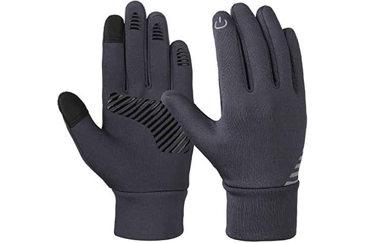 Vbiger Kids Fleece Touchscreen Gloves