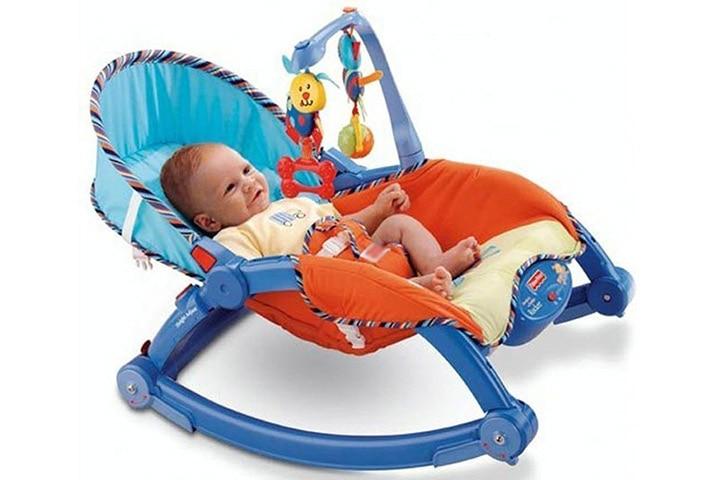 Webby Newborn To Toddler Portable Rocker