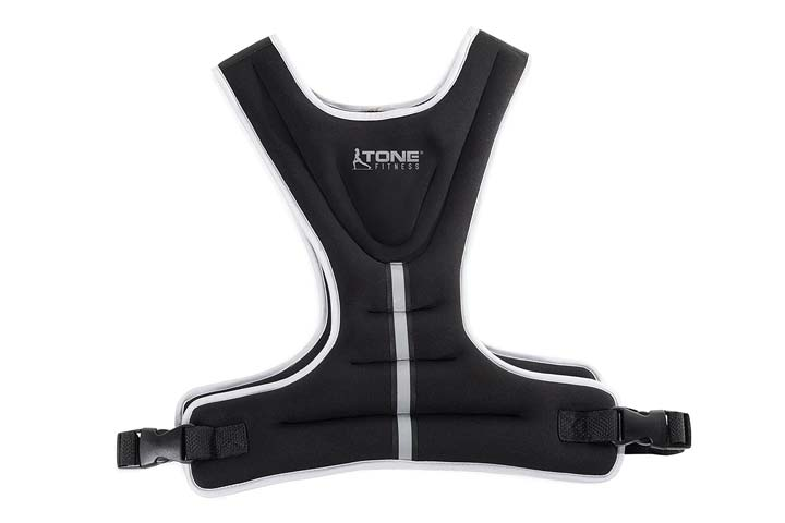 Weighted Vest 8lb by Tone Fitness