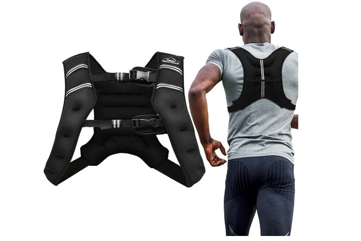 Weighted Vest Workout Equipment by Aduro Sport