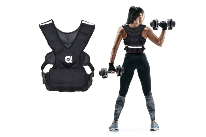 Weighted Vest by ATIVAFIT
