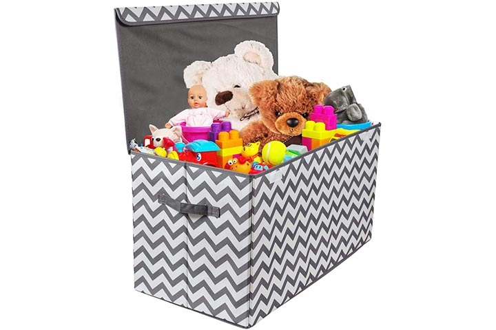 Woffit Toy Storage Organizer Chest for Kids & Living Room