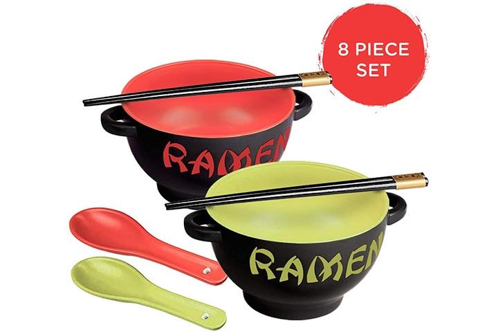World Market Japanese Ceramic Ramen Bowl