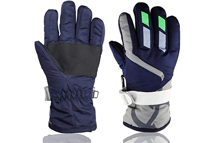 YR.Lover Children Ski Gloves