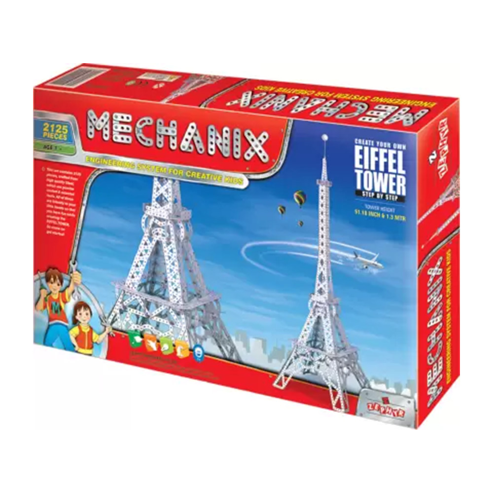 mechanix eiffel tower set
