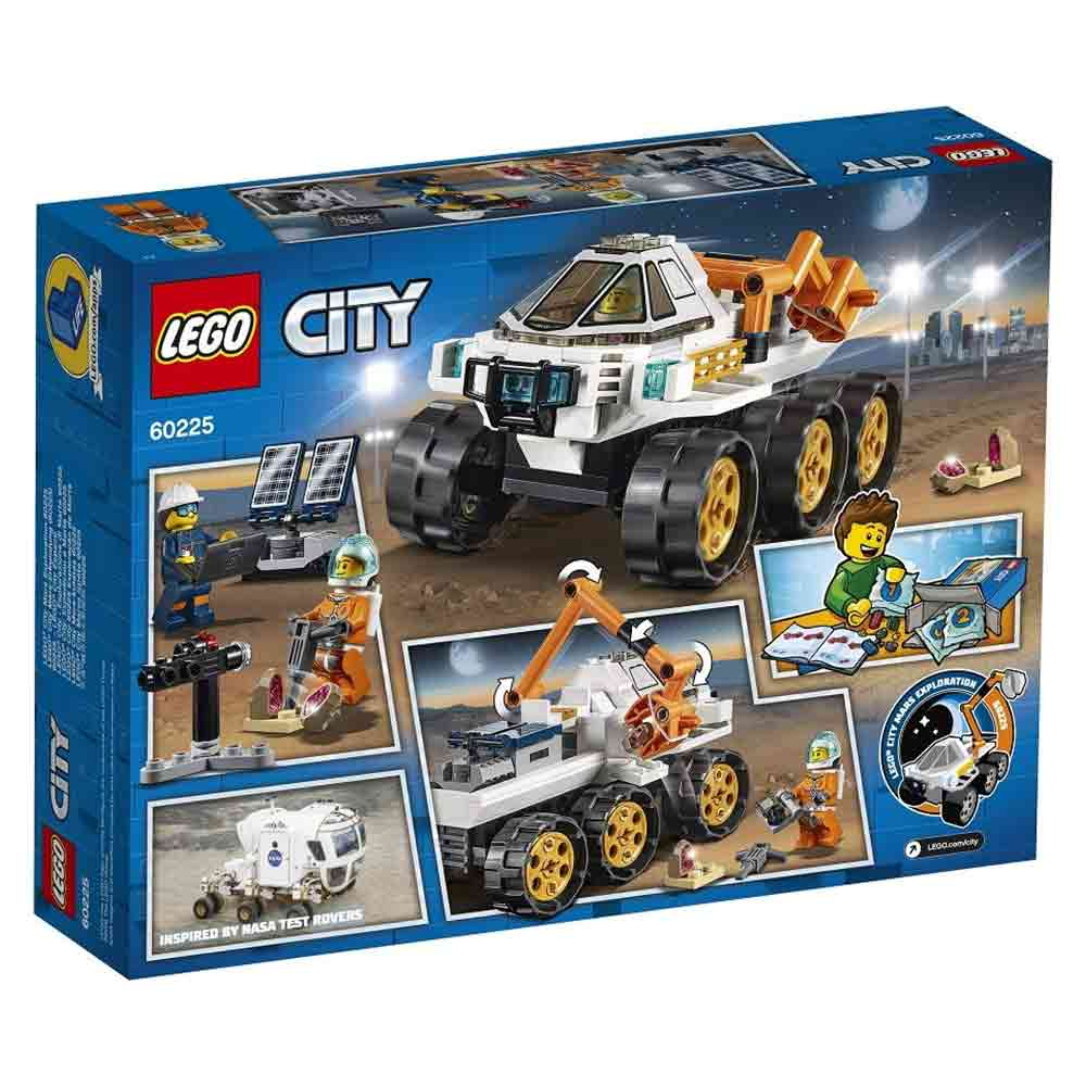 lego rover testing drive