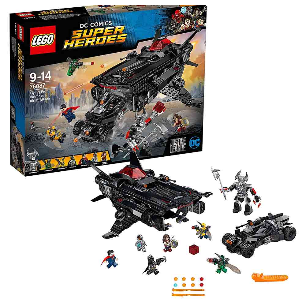 lego super heroes flying fox batmobile airlift attack