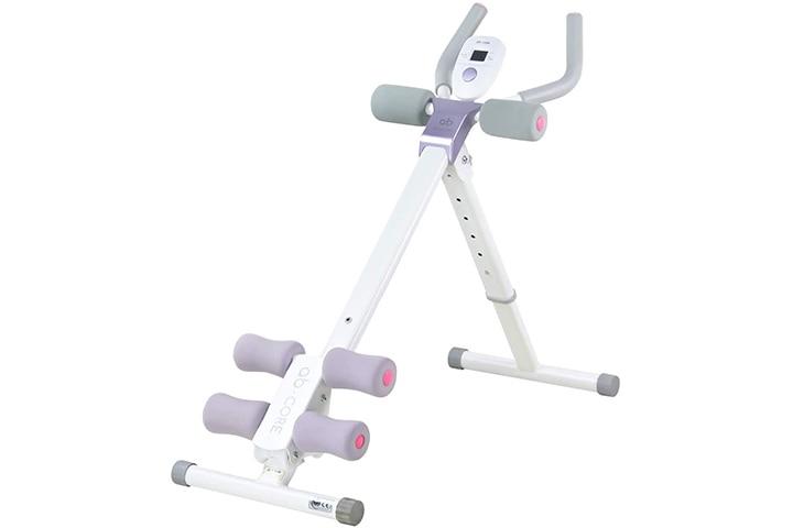 leikefitness Height Adjustable Ab Trainer