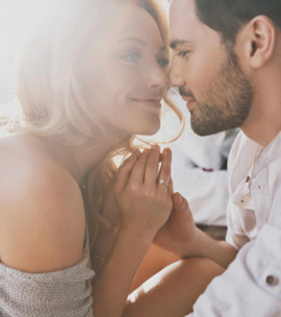 With in signs love is secretly you a man 7 Signs