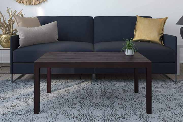 Ameriwood Home Parsons Coffee Table