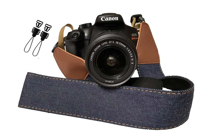Art Tribute Vintage Camera Strap