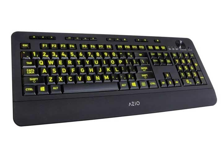 Azio KB506 Vision Backlit Keyboard