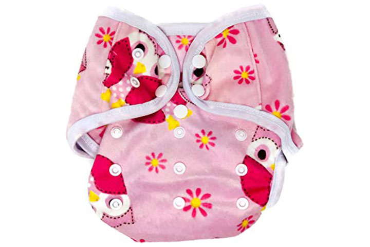 BB2 Baby One Size Cloth Diaper Cover