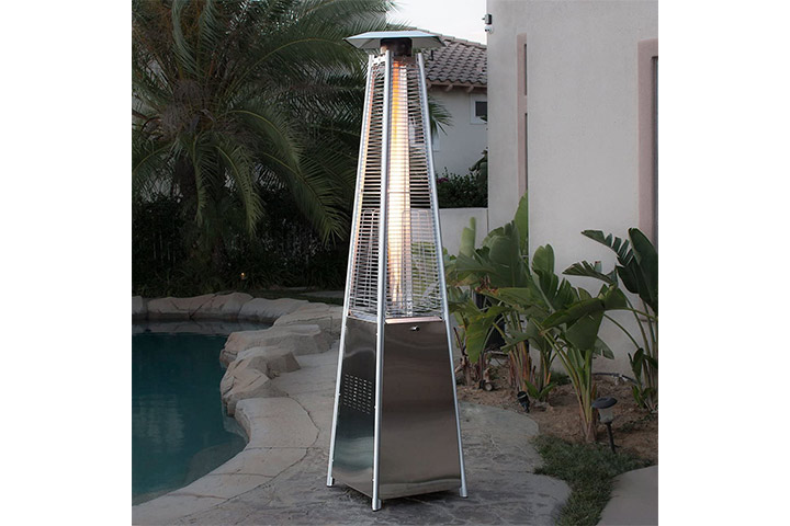 BELLEZE Pyramid Patio Heater