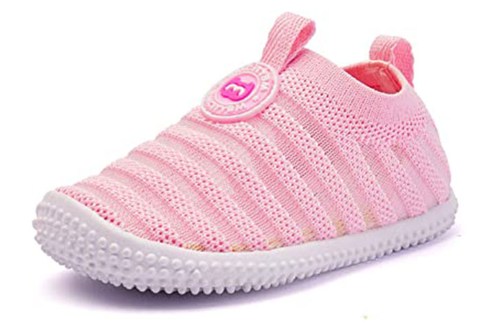 BMCiTYBM Baby Shoes Boy Girl Infant Sneakers Non-Slip First Walkers