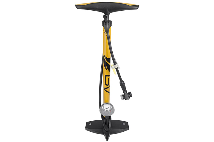 BV Floor Pump With Gauge And Smart Valve Head