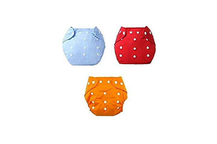 Baby Bucket All-in-one Washable Cloth Diapers