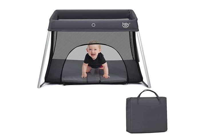 Baby Joy Store Foldable Travel Crib