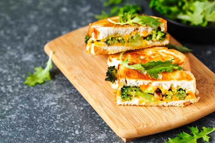 Broccoli sandwich