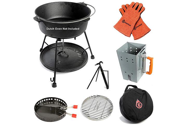 Camp Maid 7-Piece Dutch Oven Tool Set