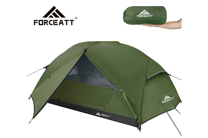 Camping Tent by Forceatt