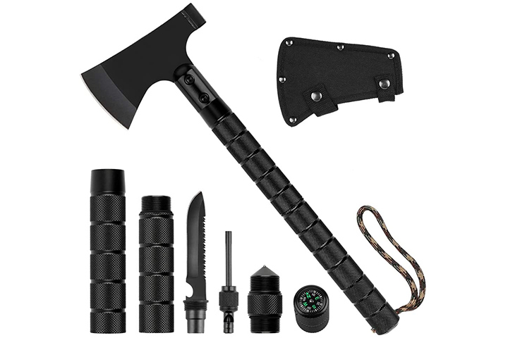 Casavida Survival Hatchet Camping Axe Hunting Set